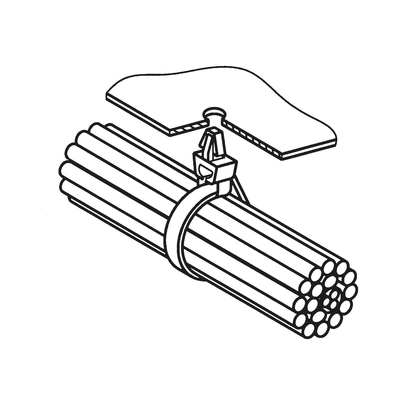 Collier attache-câble - 2