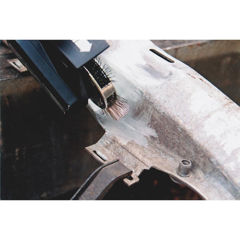 Brosse à fils métalliques, acier inoxydable - 3