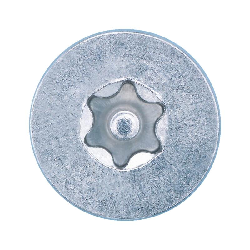 Senk-Blechschraube mit Innensechsrund und Sicherungspin - 3