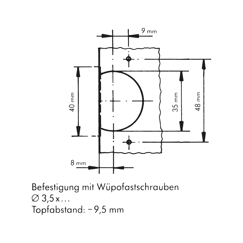 Objektscharnier - 3