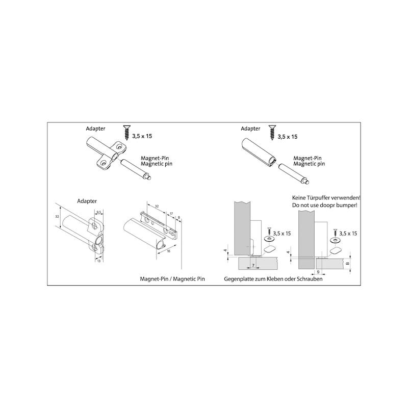 Magnet-Pin Tipmatic - 2