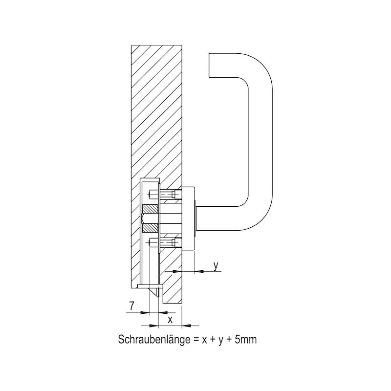 Montageplatte - 3
