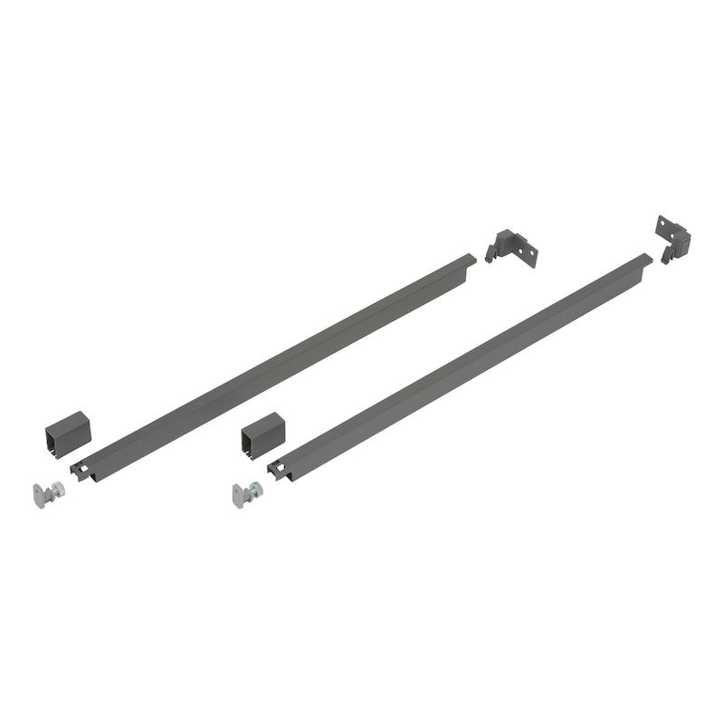 Kit de rail rectangulaire Nova Pro Scala - 1