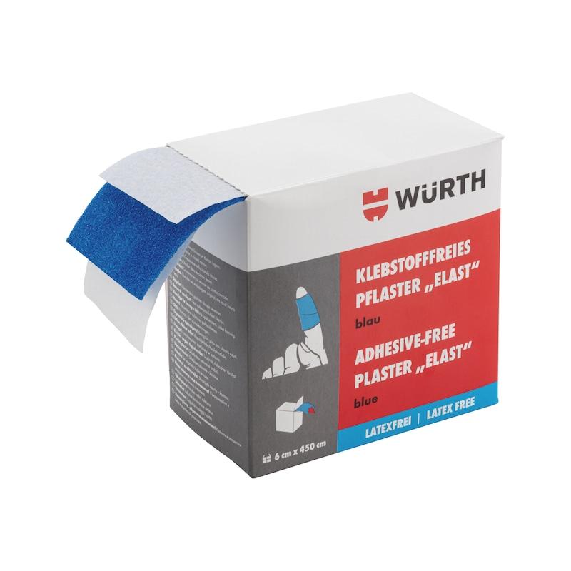 Pansement sans adhésif, bleu Elast sans latex - PLST-LATXF-ELAST-BLUE-6X450CM