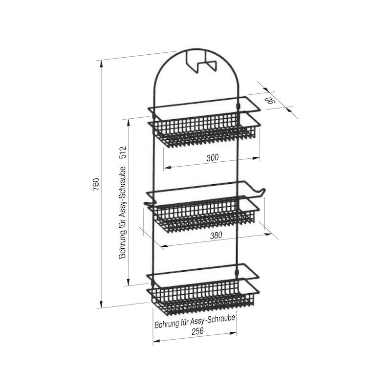 Schlauch- und Gerätehalter VS TAL Broom - 0