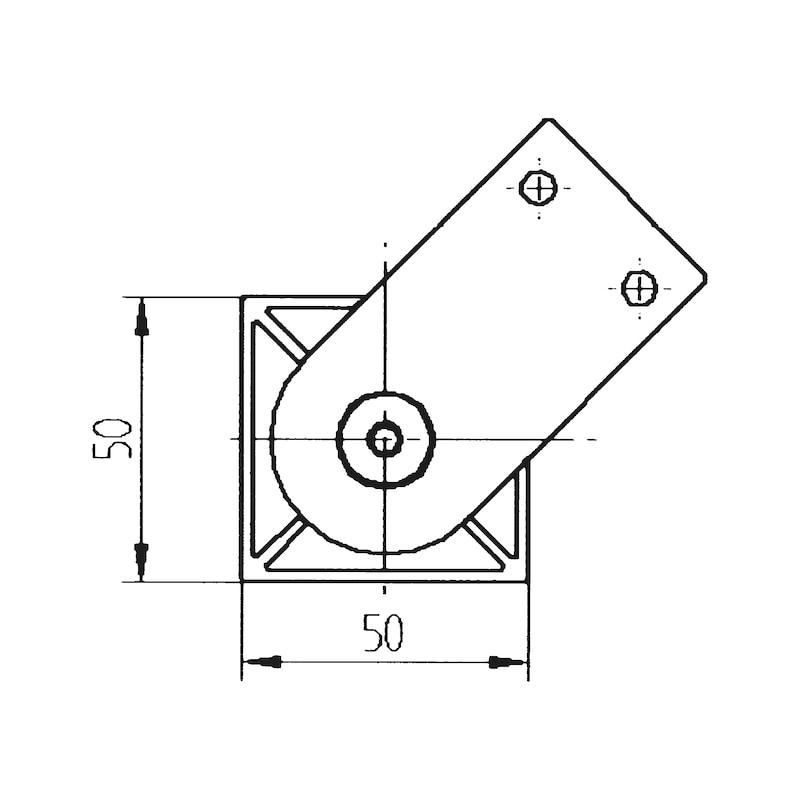 Design-Möbelfuß - 2
