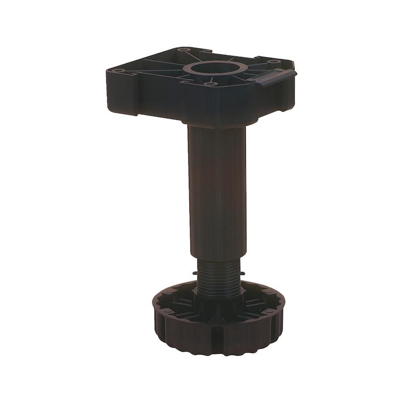 Nóżki meblowe o regulowanej wysokości Typ B - NOZKA MEBLI KUCHENNYCH T.B 100MM