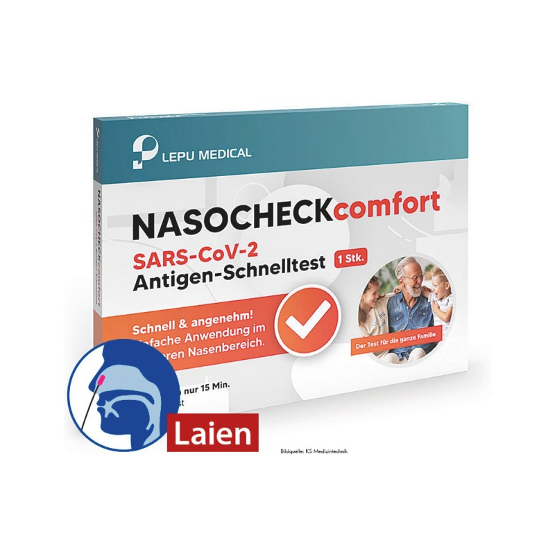 COVID-19 Antigen Lepumed Test Nase - SELBSTEST-COVID19-ANTIGEN-LEPUMED-NASE