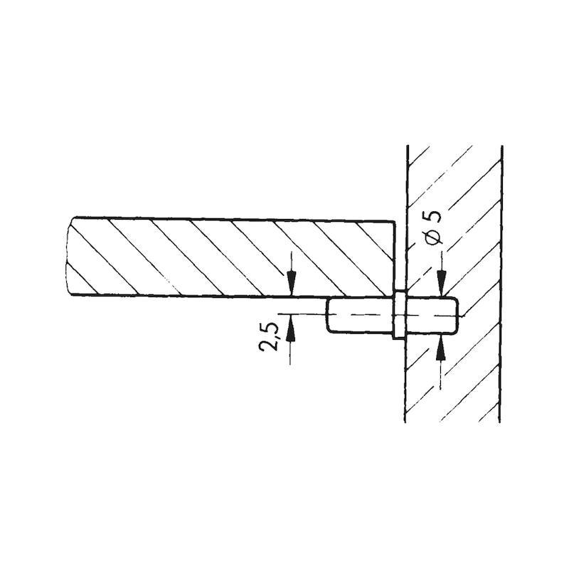 Bodenträger mit Bund - 2