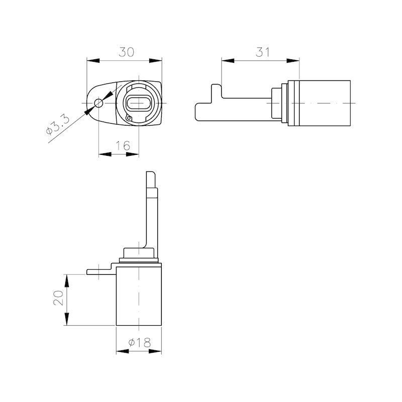 MS 5000 Zentralverschluss - 2
