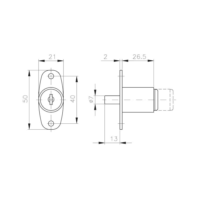 Druckzylinder MS 5000 - 2