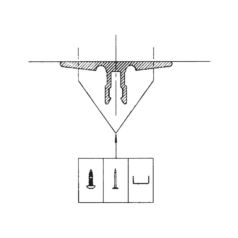 Kabelführung horizontal - 2