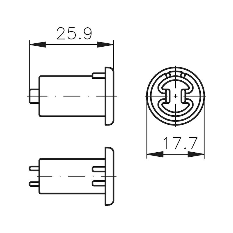 Abdeckkappe MS 5000 - 2
