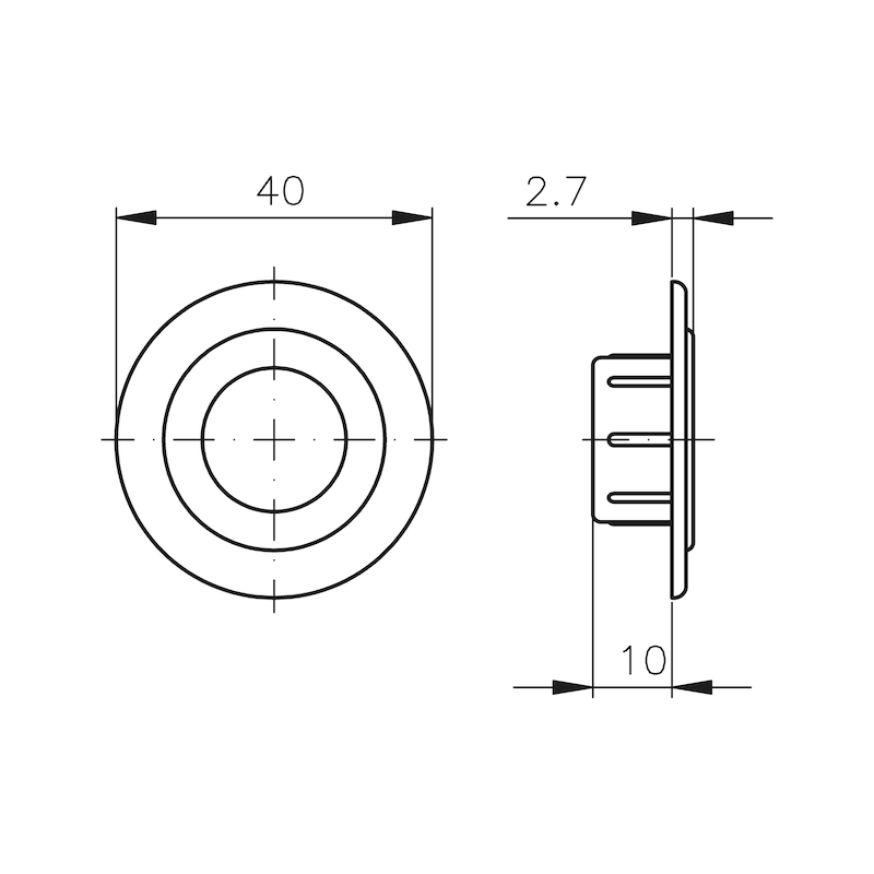 Design-Rosette MS 5000 - 0