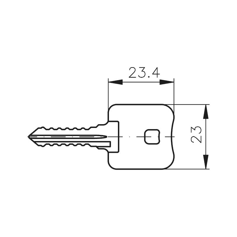 Demontageschlüssel MS 5000 - MS5000-DEMONTAGESCHLUESSEL