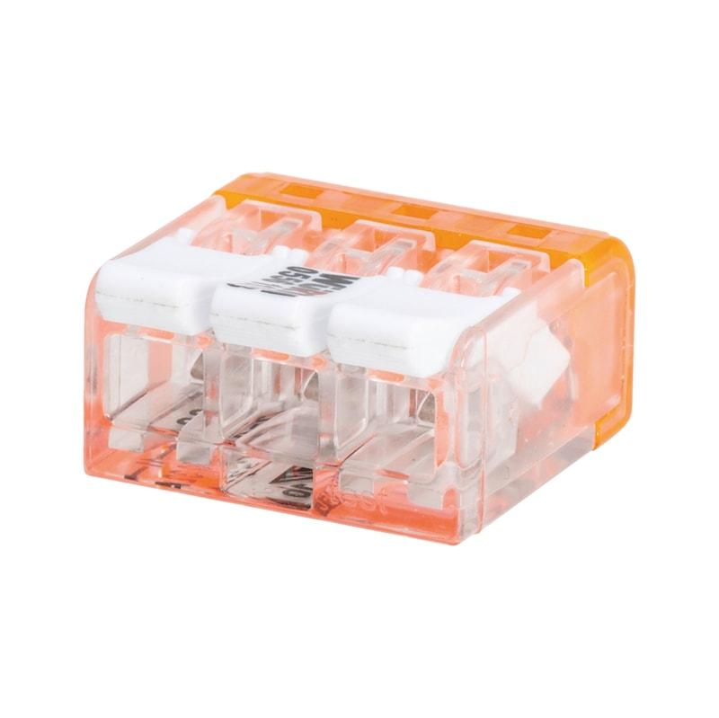 Connecteur Mini pour fil souple/rigide ELMO<SUP>®</SUP> Compact plus - CONN. MINI SPLE/RGDE 3E.KOMPAKT PLUS
