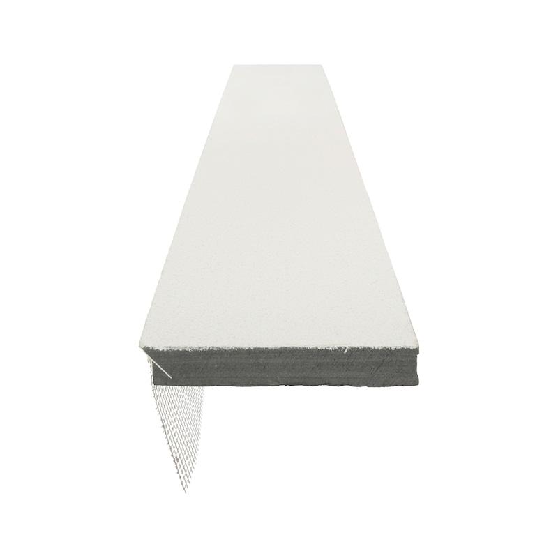 Laibungsplatte XPS mit Putzanschlussprofil - 7