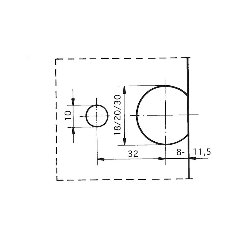 Verbinderbohrlehre  VBL-2 - 2