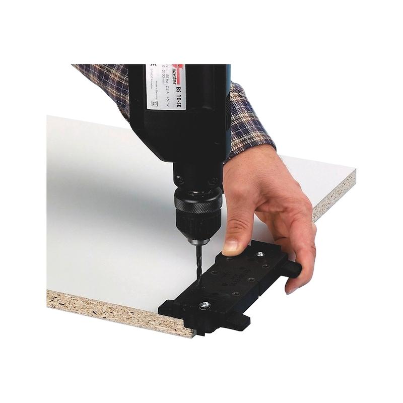 Bolzenbohrlehre für Systembolzen ∅5 mm - 2