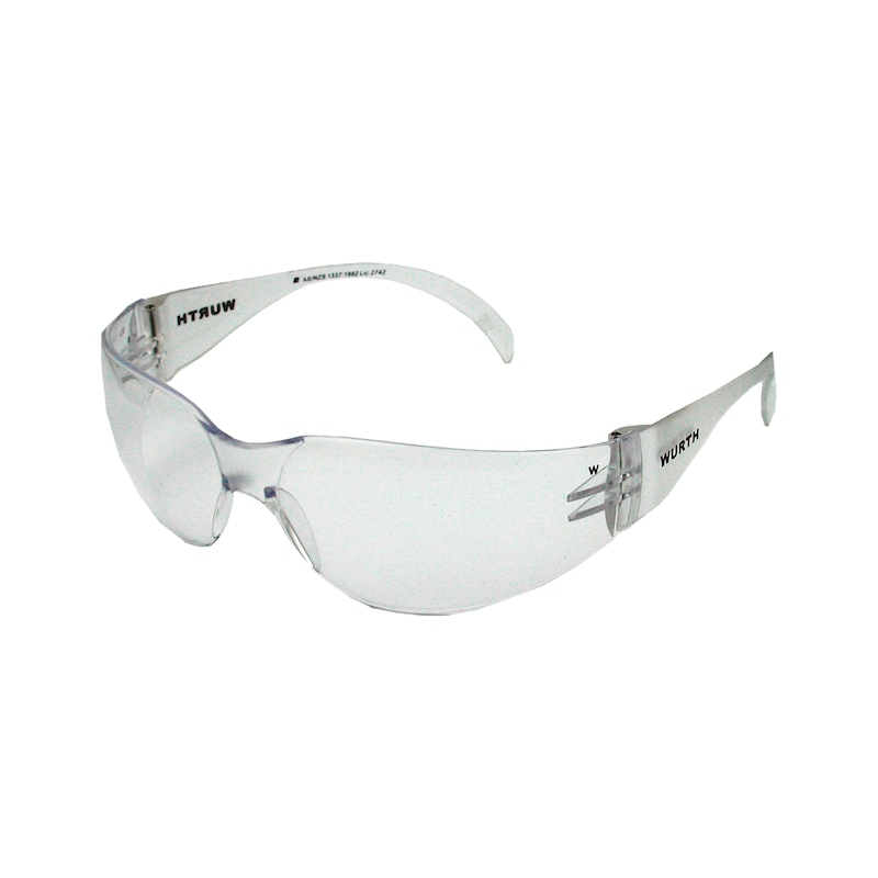 Safety glasses Standard - SAFEGLS-STANDARD-PC-CLEAR