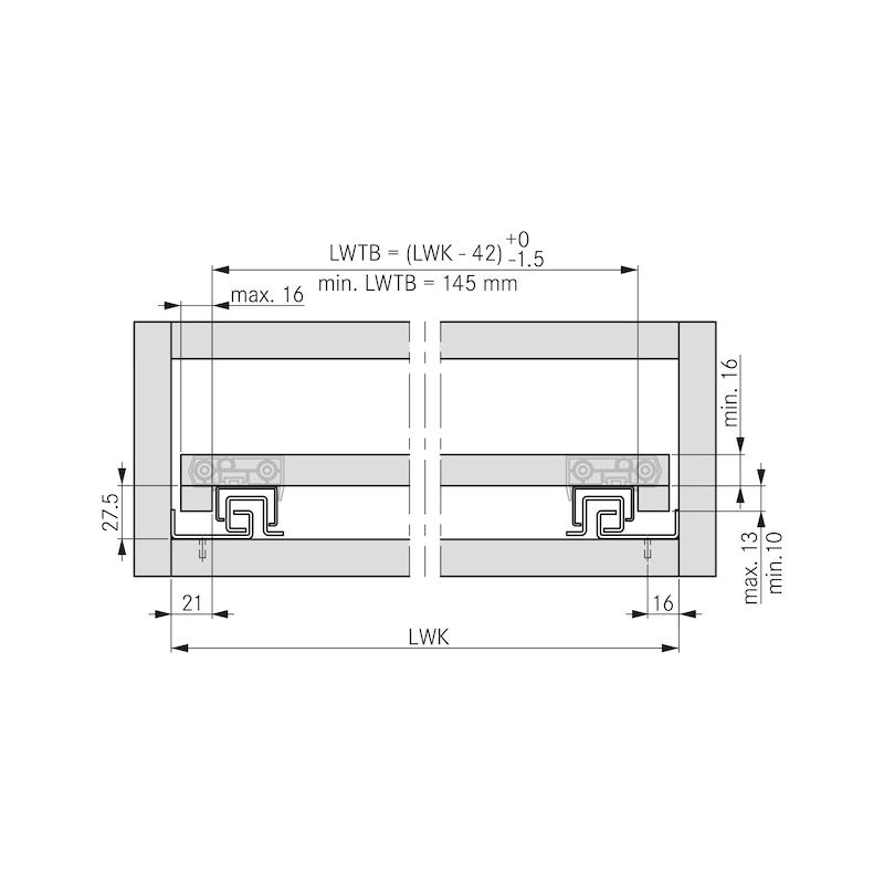 Tablarhalter-Set - 3