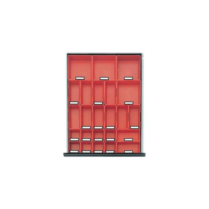 Kunststoffboxen-Set PRO - ZB-KSTBOX-SORT-SLSHRNK-40