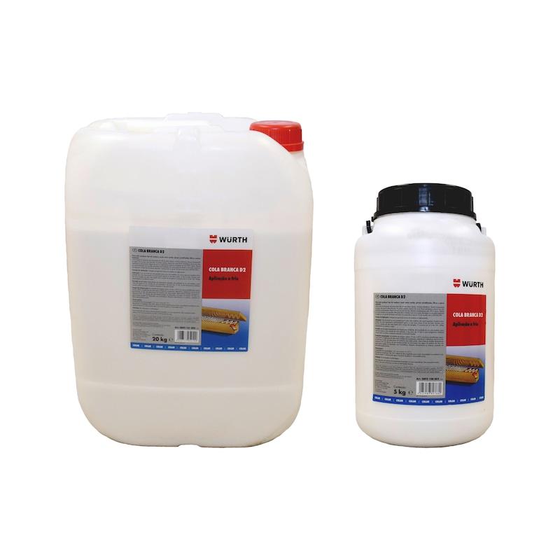 Cola branca para madeira D2 - 2