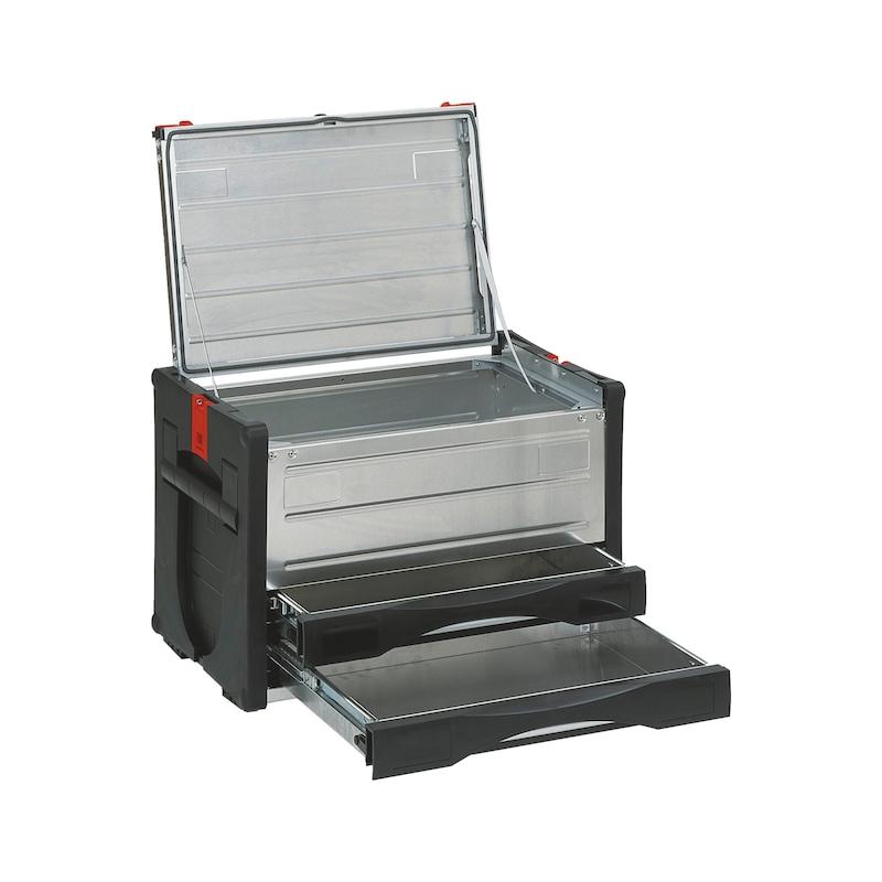 ORSY<SUP>®</SUP>BULL-Kombibox Toplader Serie 5 - SYSBOX-KOMBI-2SL-5-H400