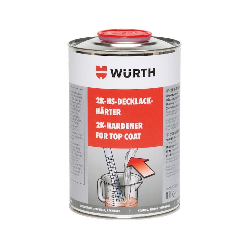 Durcisseur HS bicomposant pour peinture de finition - DURCISSEUR PR FIN. ACRYLIQUE 1L