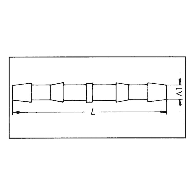 Doppelschlauchhülle - 2