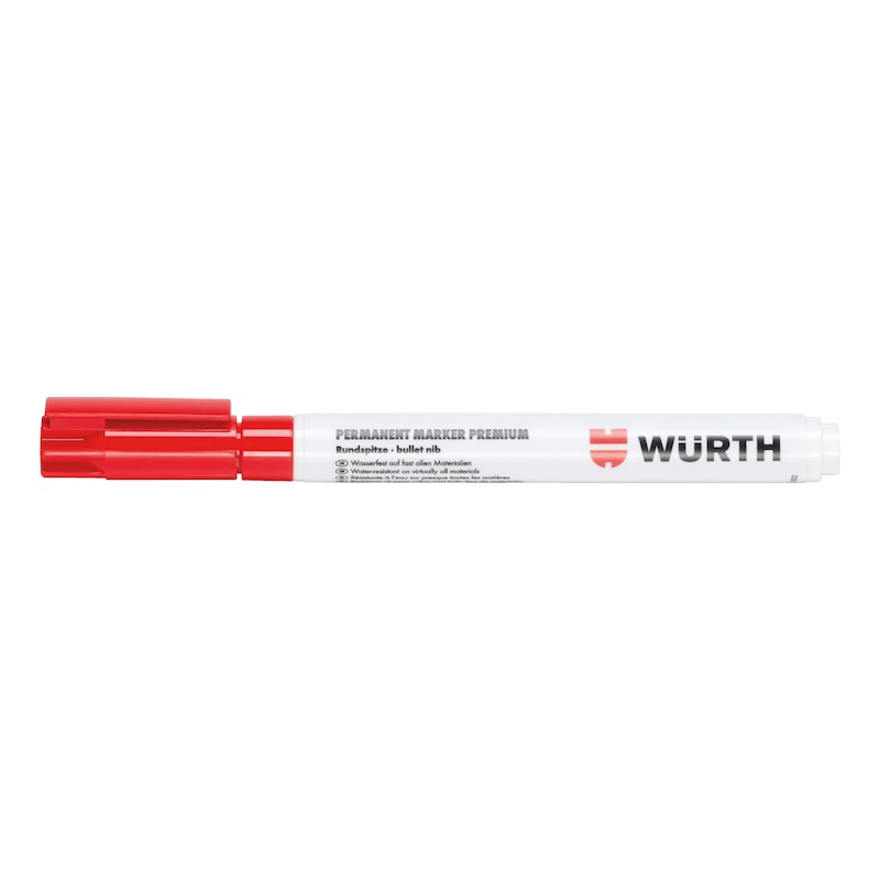 Tintenmarker Premium Tinte - TINTMARK-PREMIUM-PERMANENT-ROT-1MM