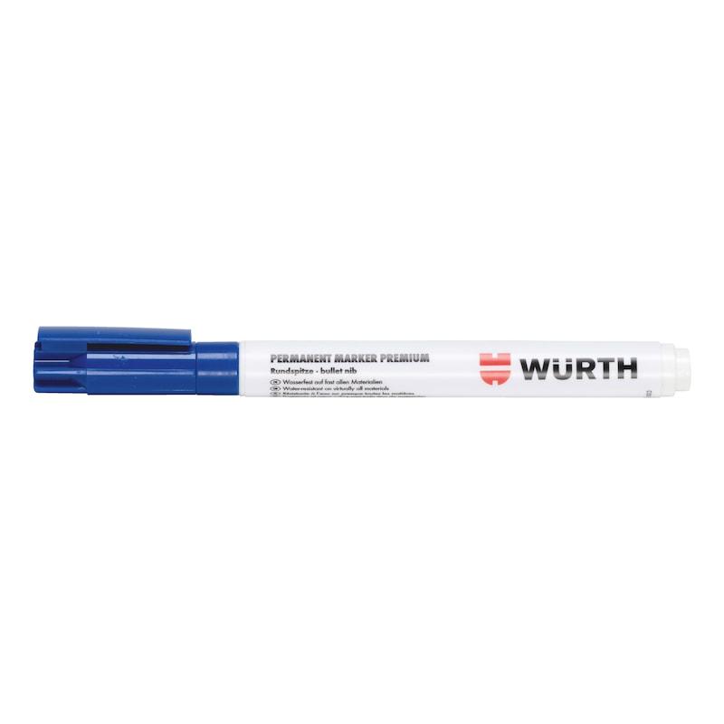 Tintenmarker Premium Tinte - TINTMARK-PREMIUM-PERMANENT-BLAU-1MM