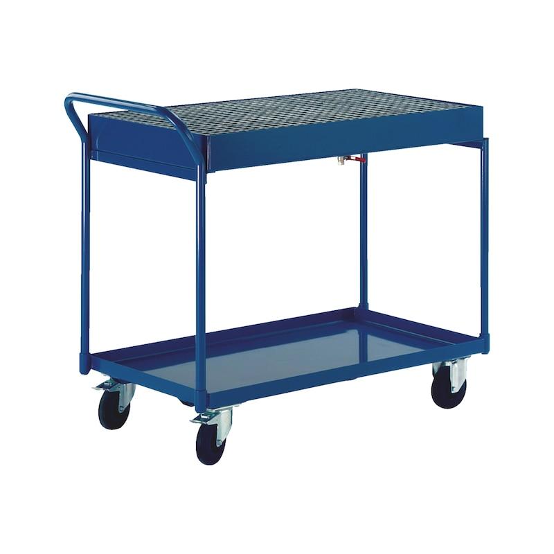 Tischwagen mit Auffangwanne