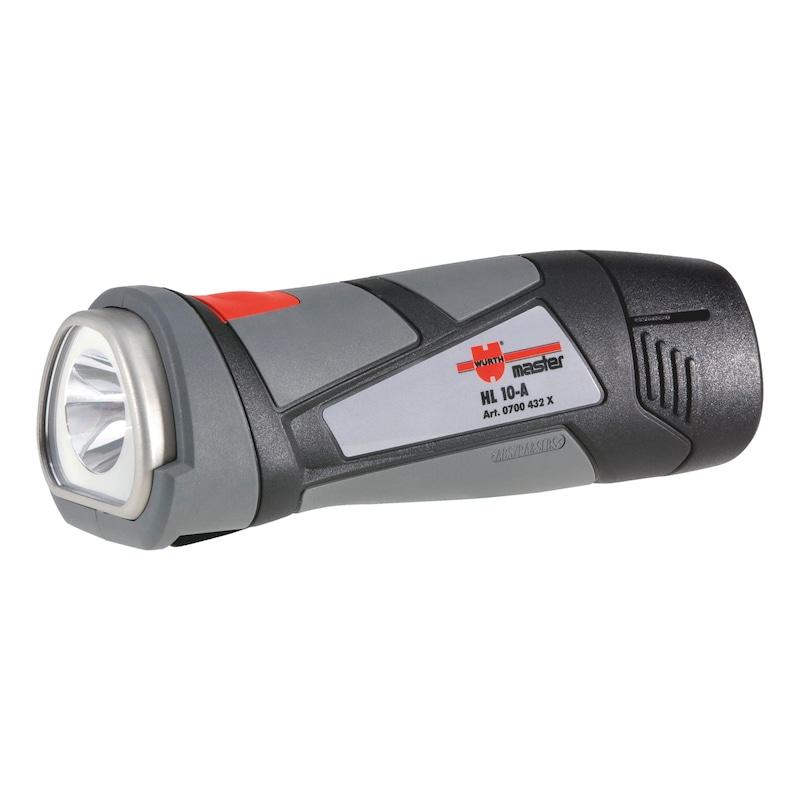 Gambiarra de bateria, HL10-A - LANTERNA HL 10-A A BATERIA (S/BATERIA)