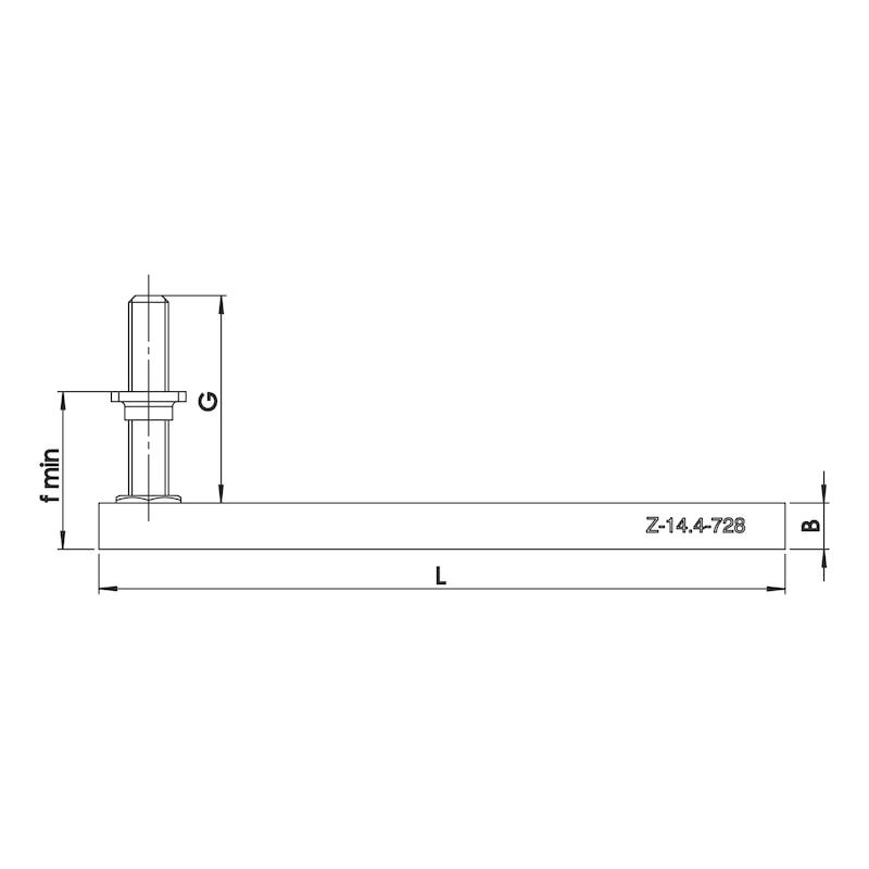 Window installation rails W-ABZ - 2