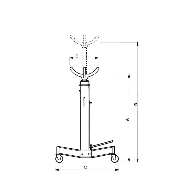 Hydraulischer Getriebeheber - 2