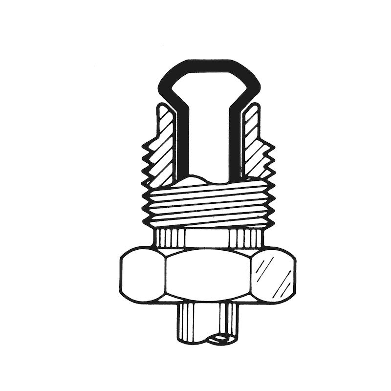 クランプジョー - フレアツール用 メス型 10.0MM