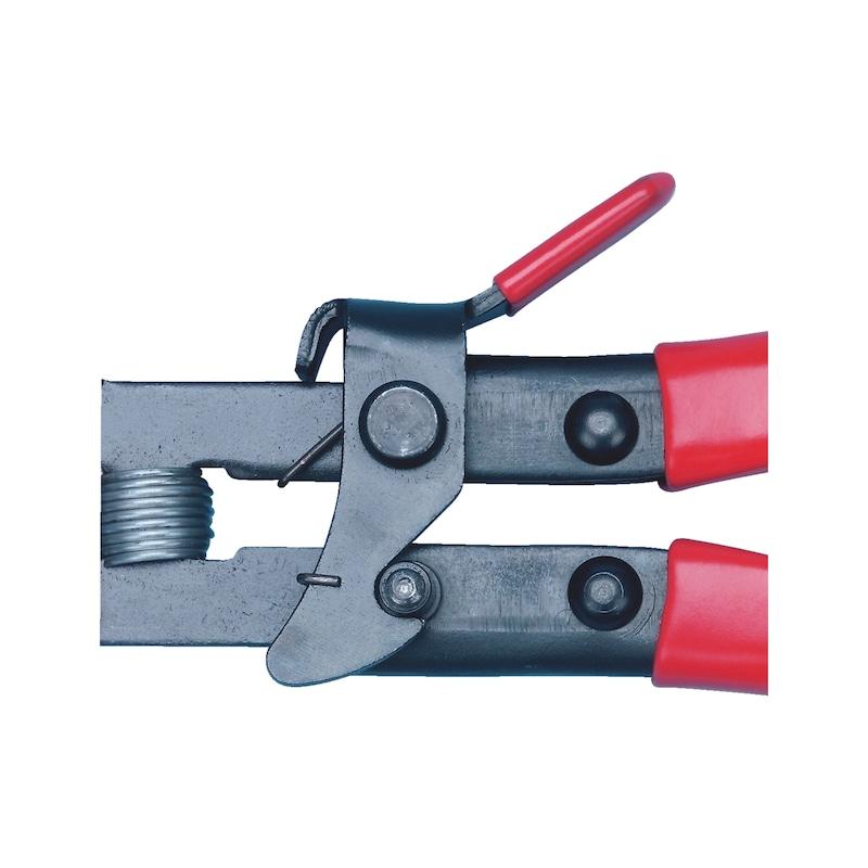 Pince pour collier en bande à ressort flexible - 2