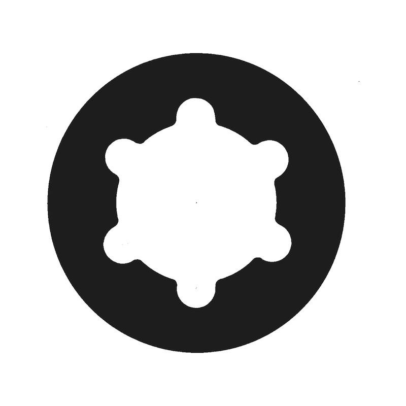 ASSY<SUP>®</SUP> 3.0 Rückwandschraube - 2