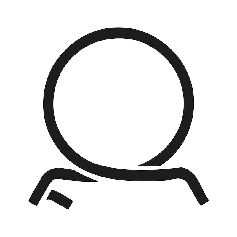 Pince pour collier en bande à ressort flexible - 5