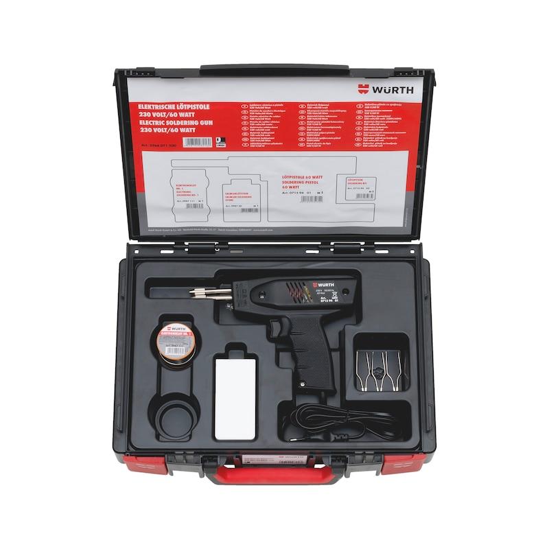 Elektrische Lötpistole 230 Volt 60 Watt Sortiment