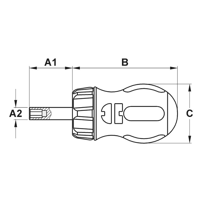 Mini-tournevis à cliquet - 2