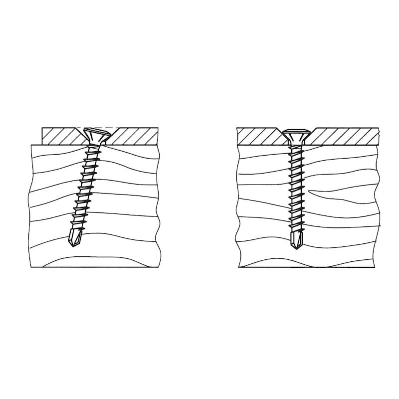 ASSY<SUP>®</SUP>plus FBS Fensterbau- und Beschlagsschraube - 0