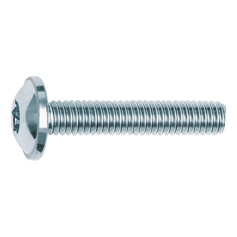 Furniture handle screw - FURNHNDLSCR-PANHD-FLG-AW20-(A2K)-M4X38