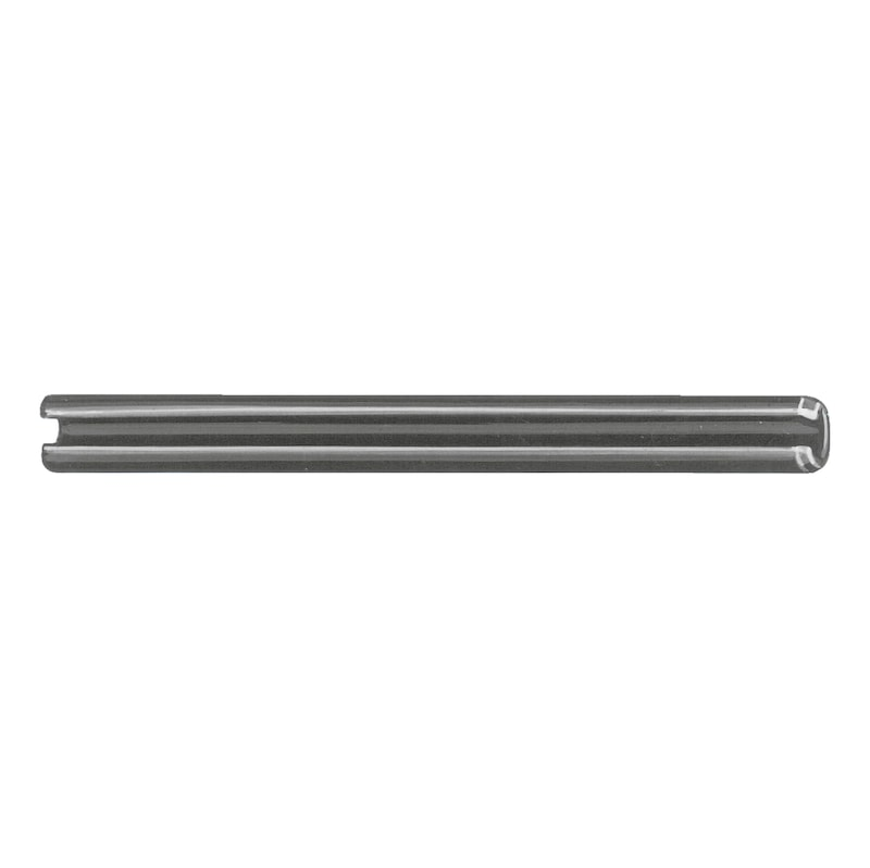Clamping pin/clamping sleeve - slotted, heavyweight design - SPGPIN-ISO8752-4X18