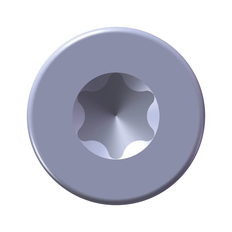 WÜPLAST<SUP>®</SUP> Senkkopfschraube mit Innensechsrund - SHR-SEKPF-W1423-T8-10.9-(A3K)-2,5X6
