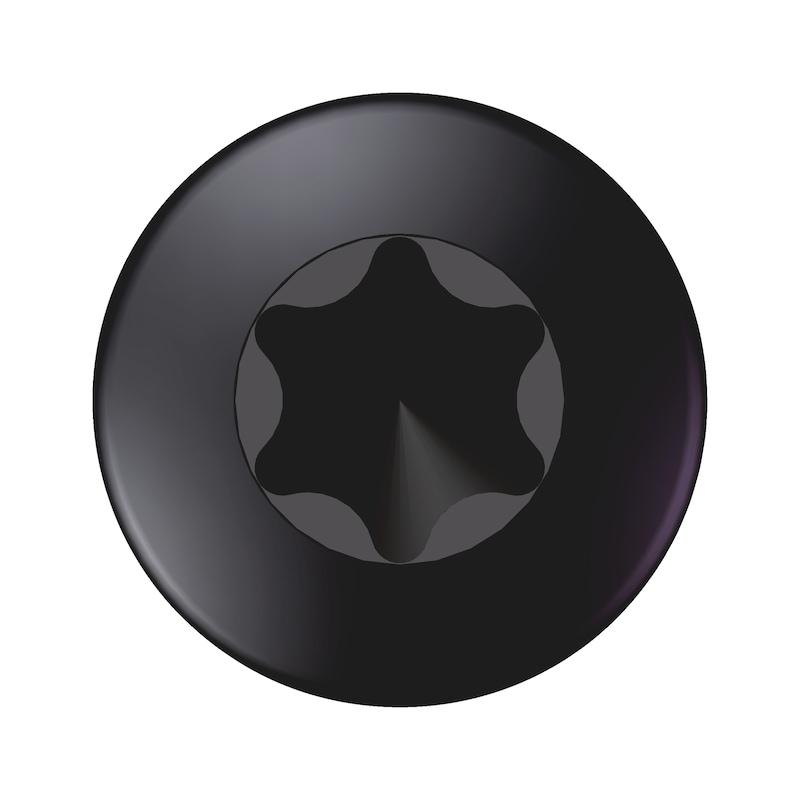 WÜPLAST<SUP>® </SUP>Linsenkopfschraube mit Innensechsrund - SHR-LIKPF-W1452-T20-10.9-(P3R)-4X25