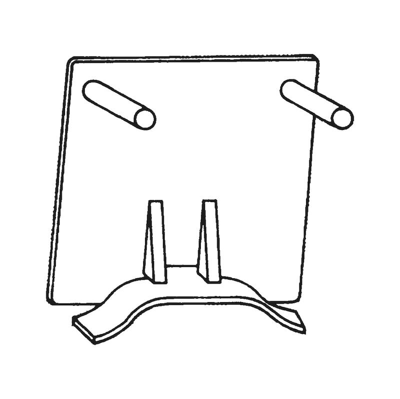 Embout pour goulotte électrique LFK - 1