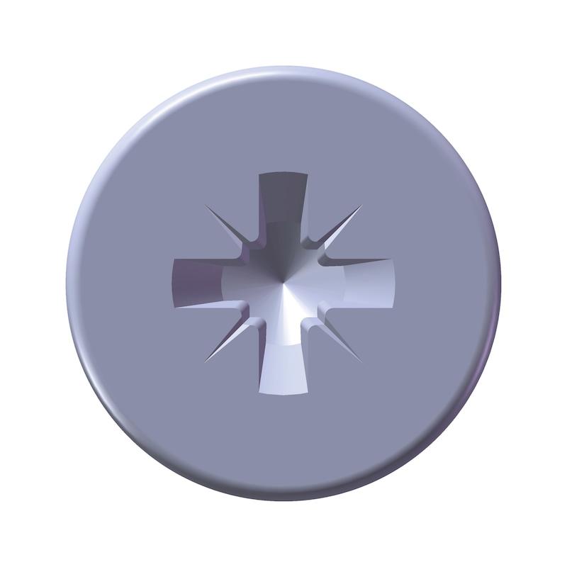 WÜPLAST<SUP>®</SUP> Senkkopfschraube mit Kreuzschlitz Z - SHR-SEKPF-W1413-Z1-10.9-(P3E)-3X8