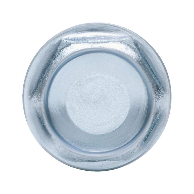 Bohrschraube Sechskantkopf mit Bund und Unterkopfverzahnung pias<SUP>®</SUP> - 3